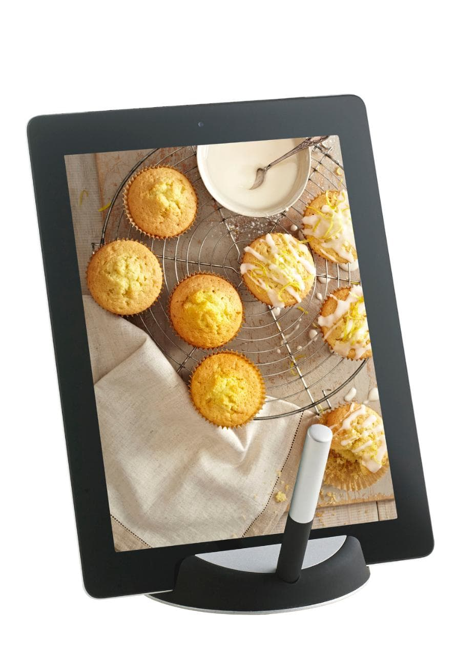 Chefs tablet stand from Lakeland