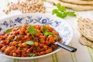 Sweet potatoe chickpea stew