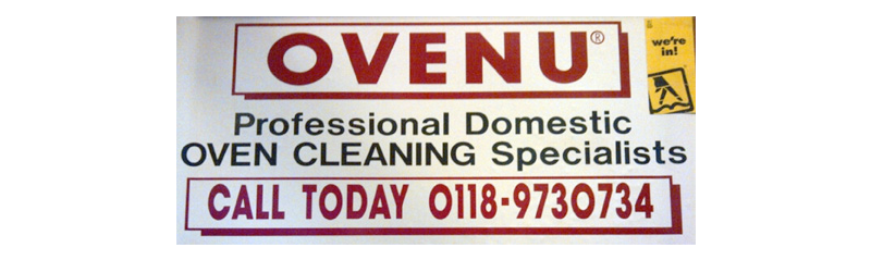 Original OVENU van signs from 1996