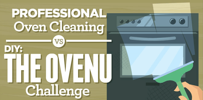 Oven Cleaning Infographic