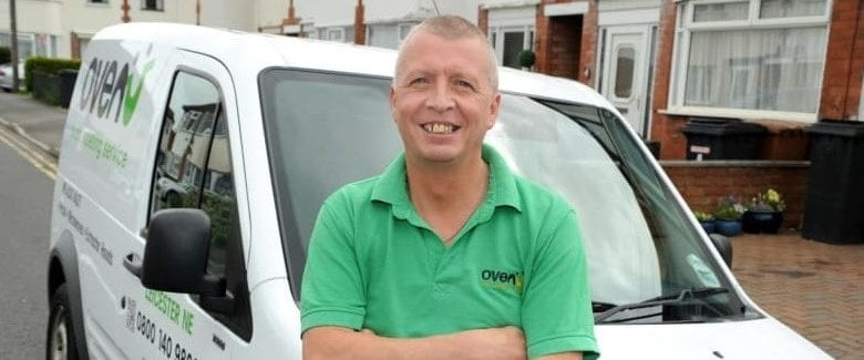 Ian Cliffe, Oven Cleaner at Ovenu Leicester NE