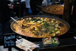Fresh Fish Paella