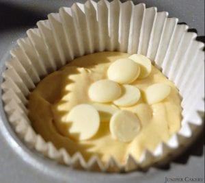 White Choc Cupcakes