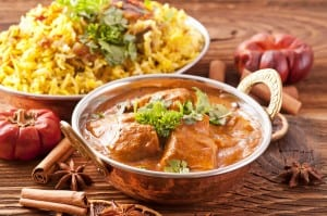 bigstock-Indian-meal-with-curry-and-bir-29411165