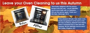 Leave your Oven Cleaning to us this Autumn