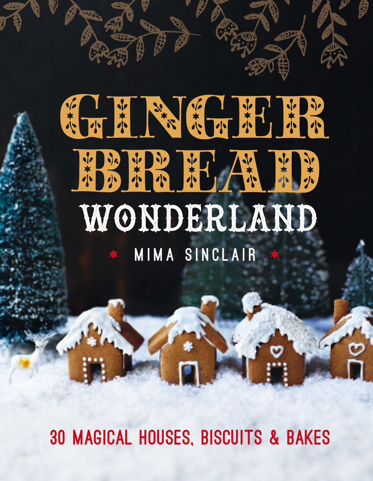 Gingerbread Wonderland recipe book