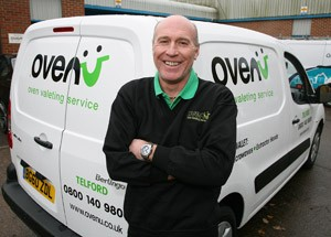 Oven Cleaning Technician, Terry Telford