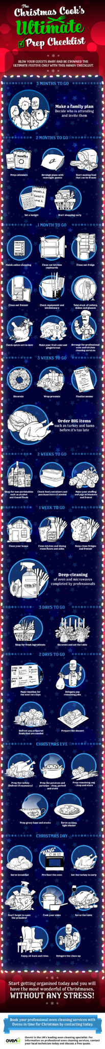 Christmas Checklist Infographic