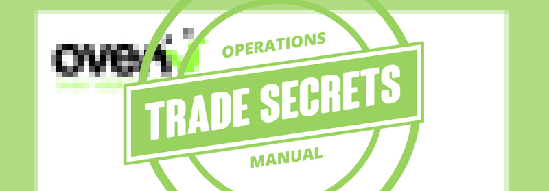 Ovenu trade secrets graphic