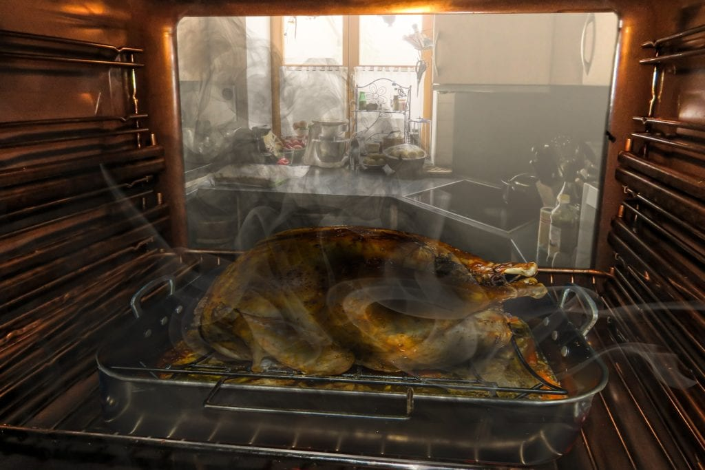 how to clean really dirty oven