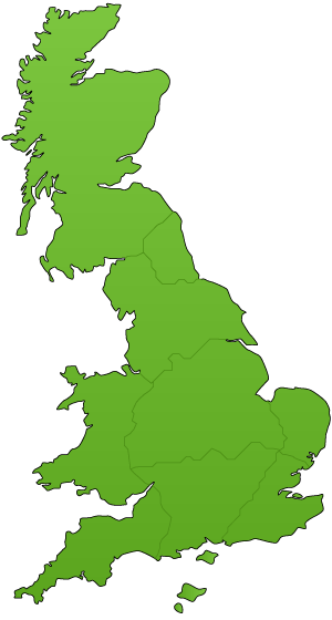 Ovenu UK Branches Map